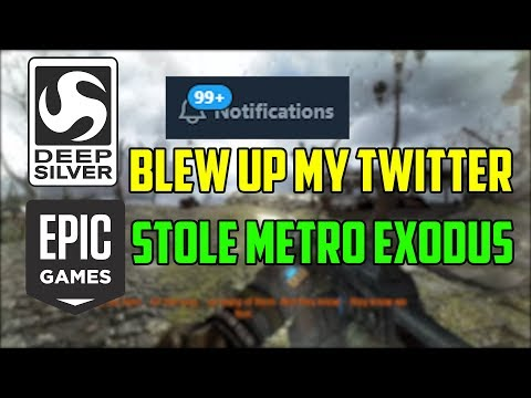 Deep Silver Blew Up My Twitter & Epic Games Stole Metro Exodus (An Epic Games Store Analysis)