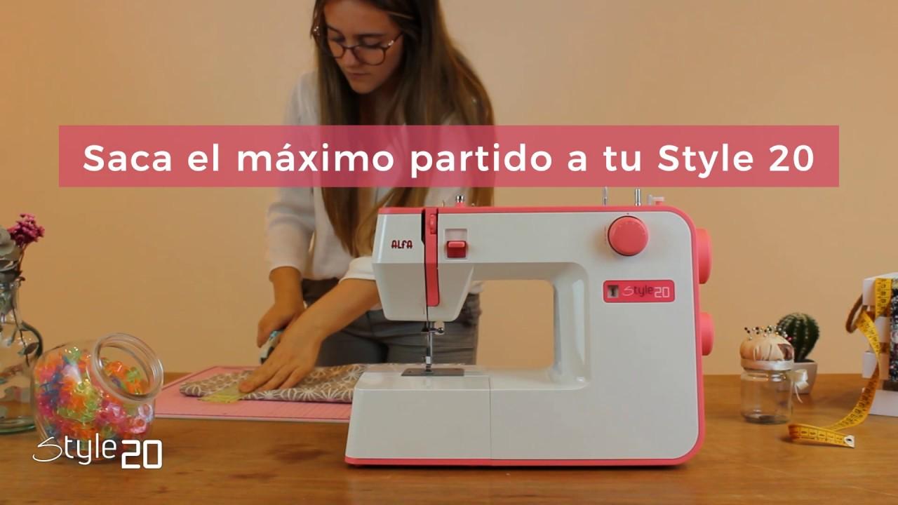 Style 20 Descubre Las Máquinas De Coser Alfa Youtube