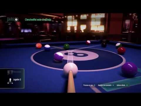 Pure Pool PS4 - Jugando con mi padre - Multijugador Local