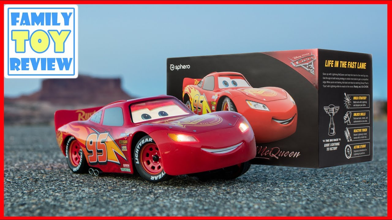 Cars 3 Toys Sphero Ultimate Lightning Mcqueen In Real Life Review Baju Overall Mqueen Disney Car Toy Robot Is Alive