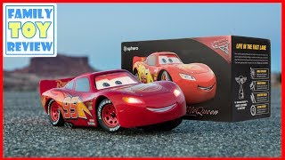Cars 3 Toys - Sphero Ultimate Lightning Mcqueen in Real Life Review - Disney Car Toy Robot is Alive!