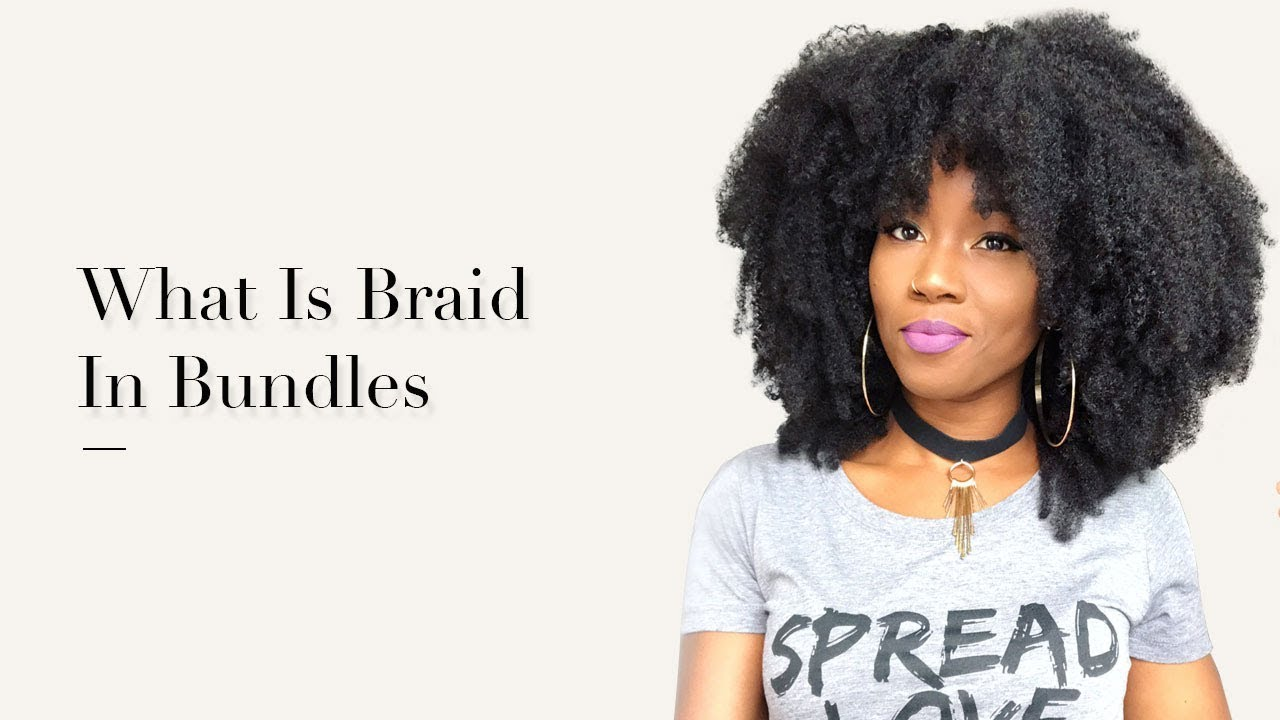New Braid In Method Afro Kinky Curly Hair Extension From Msbuy Com