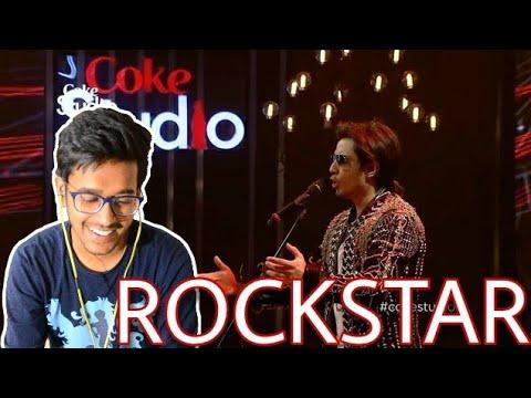 Indian Reacts To :- Rockstar | Ali Zafar | Coke Studio Season 8