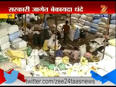Pune Illegal Use Of Goverment Land