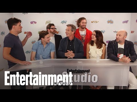Ready Player One Stars Break Down The Pop-Culture Treasure Hunt | SDCC 2017 | Entertainment Weekly