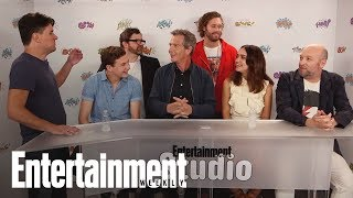 'Ready Player One' Stars Break Down The Pop-Culture Treasure Hunt | SDCC 2017 | Entertainment Weekly
