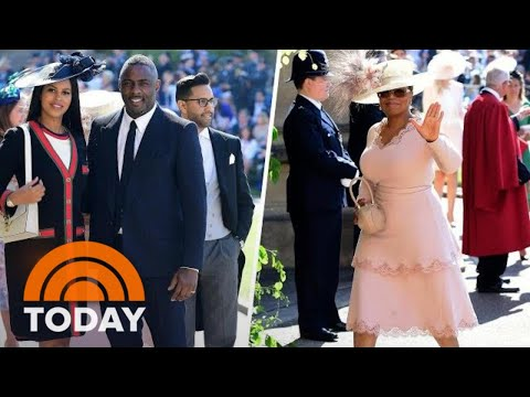 Royal Wedding: Idris Elba, Oprah Winfrey, More Arrive At Win