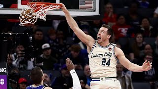 Pat Connaughton's Top Ten Dunks Of 2019-20 | NBA AT&T Slam Dunk Contest 2020