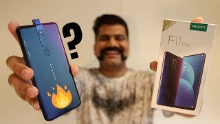 Oppo F11 Pro Unboxing & First Look - Rising Selfie + VOOC 3.0