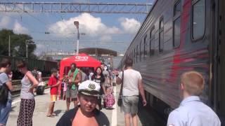 На поезде на море 2016(Только поезд. Поезда стали дорогие. То что стриоли наши отцы и деды десятилетиями банкиры своровали за..., 2016-07-26T15:59:27.000Z)