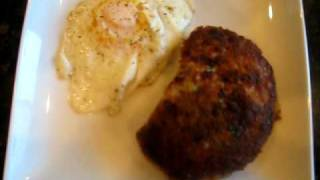 egg and crab cake no breadcrumbs