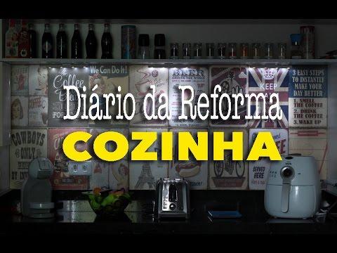 Diário da Reforma: Cozinha | Renata Nicolau