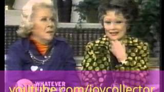 Lucille Ball & Vivian Vance interview in 1975