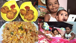 A Day In My Life/Simple Vlog/Indian Mom Routine Breakfast,Lunch,Snacks/Pasta/Sweet corn Vadalu  ....