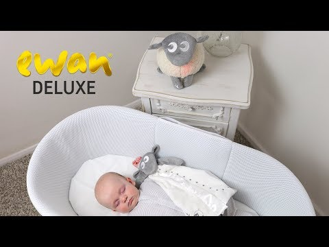 ewan Deluxe baby sleep soother with cry sensor