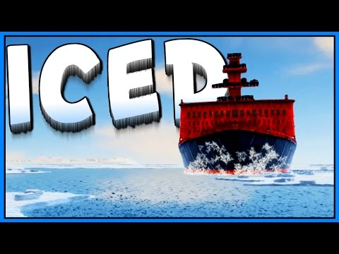 ICED - ICEBREAKER CHASE - Rescue Ship? - Let's Play ICED Game - ICED Gameplay