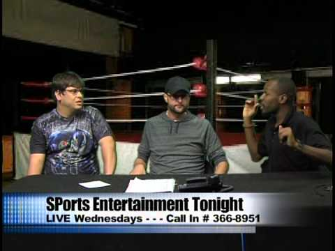 Sports Entertainment Tonight LIVE 15A014