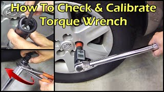 Digital Torque Adapter - How To Check & Calibrate Torque Wrench
