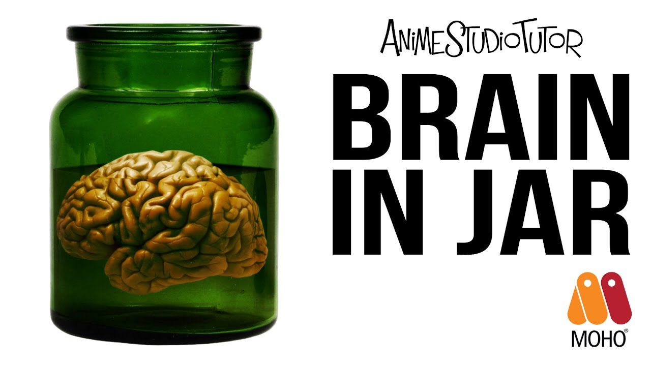 Animated brain in a jar - Moho Pro 12