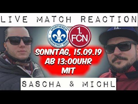 Live Match Reaction   SV Darmstadt 98 : 1 FC Nürnberg   6. Spieltag   2019/20