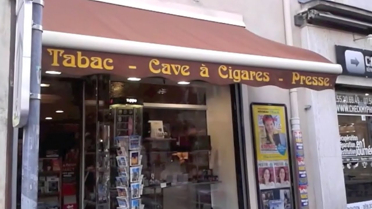Un bureau tabac Nancy YouTube