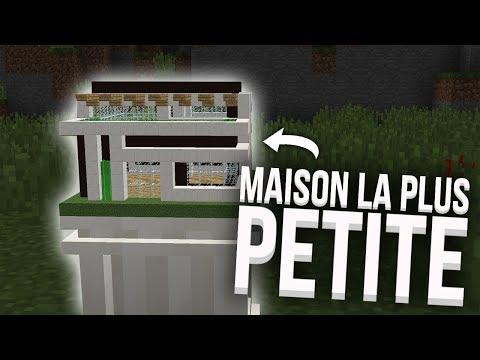 LA PLUS PETITE MAISON EN REDSTONE DU MONDE !