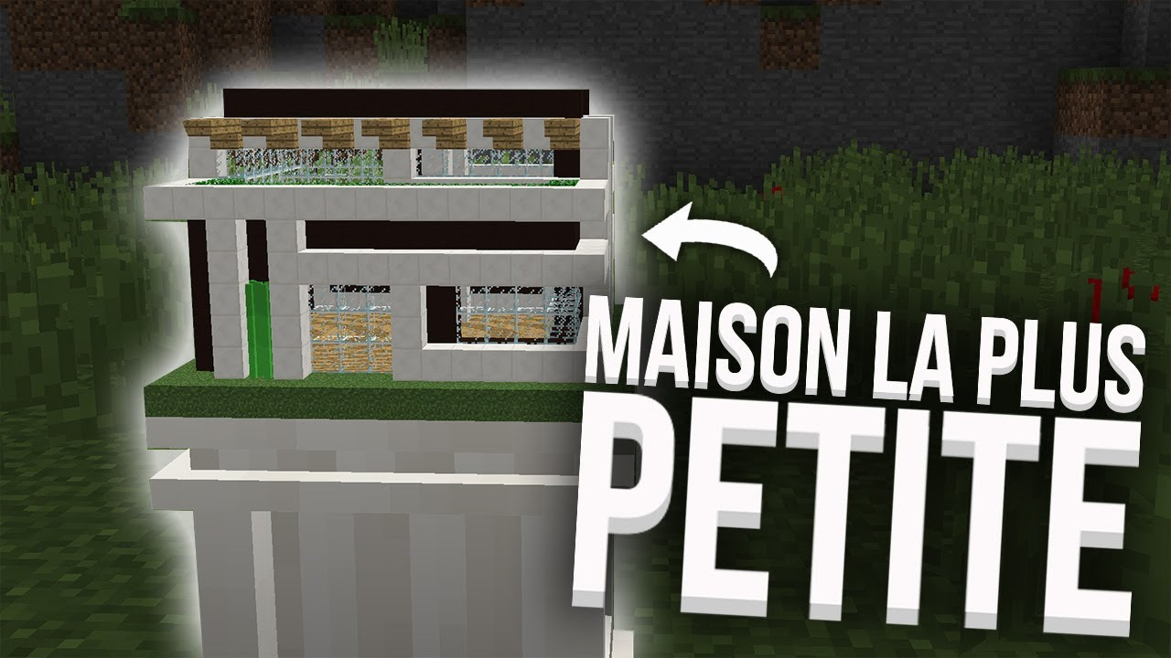 La plus petite maison en redstone du monde youtube for La maison monde