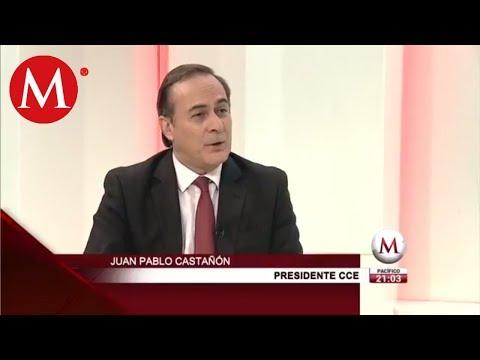 Juan Pablo Castañón habla de reunión con Andrés Manuel López Obrador