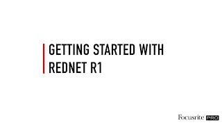What is RedNet R1? // Focusrite Pro