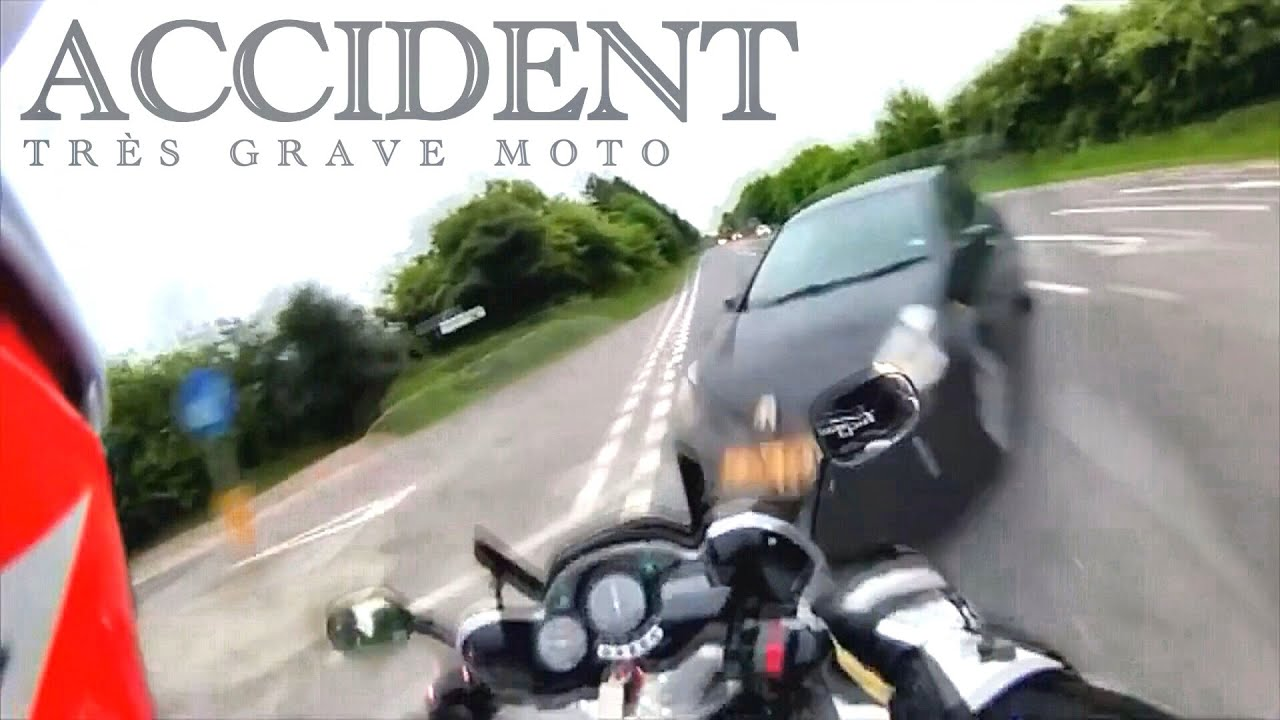 grave accident de moto hommage aux motards tu s youtube. Black Bedroom Furniture Sets. Home Design Ideas