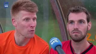 Afscheidswedstrijd  Floris Buitenhuis en Koen Tip