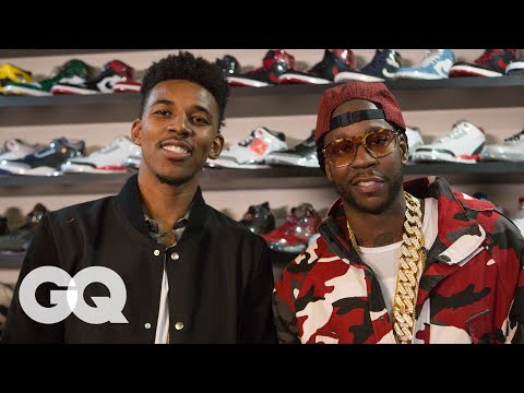 2 Chainz & Nick Young Shop for $25K Jordans | Most Expensivest Sh*t | GQ
