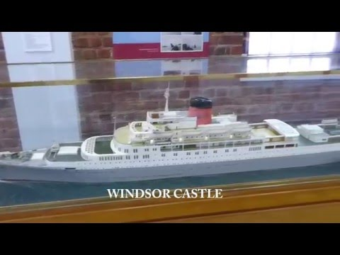 Union Castle Exhibition, Iziko Maritime Museum, Cape Town
