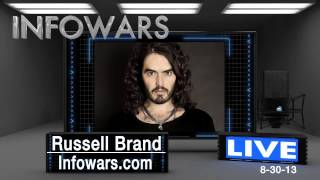 "Russell Brand telling you secrets the ""establishment"" don"