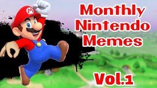 Monthly Nintendo Meme Compilation || Vol.1