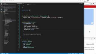 Learn To Build A Google Map App Using Angular 2 - Map Functions & Events Free HD Video