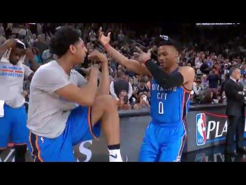 Oklahoma City Thunder vs San Antonio Spurs - May 2, 2016