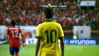 Neymar vs South Korea (A) 13-14 – International Friendly H...