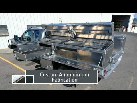 Custom Aluminium UTE Tool Boxes, Trays, Boats, Trailers, Canopies