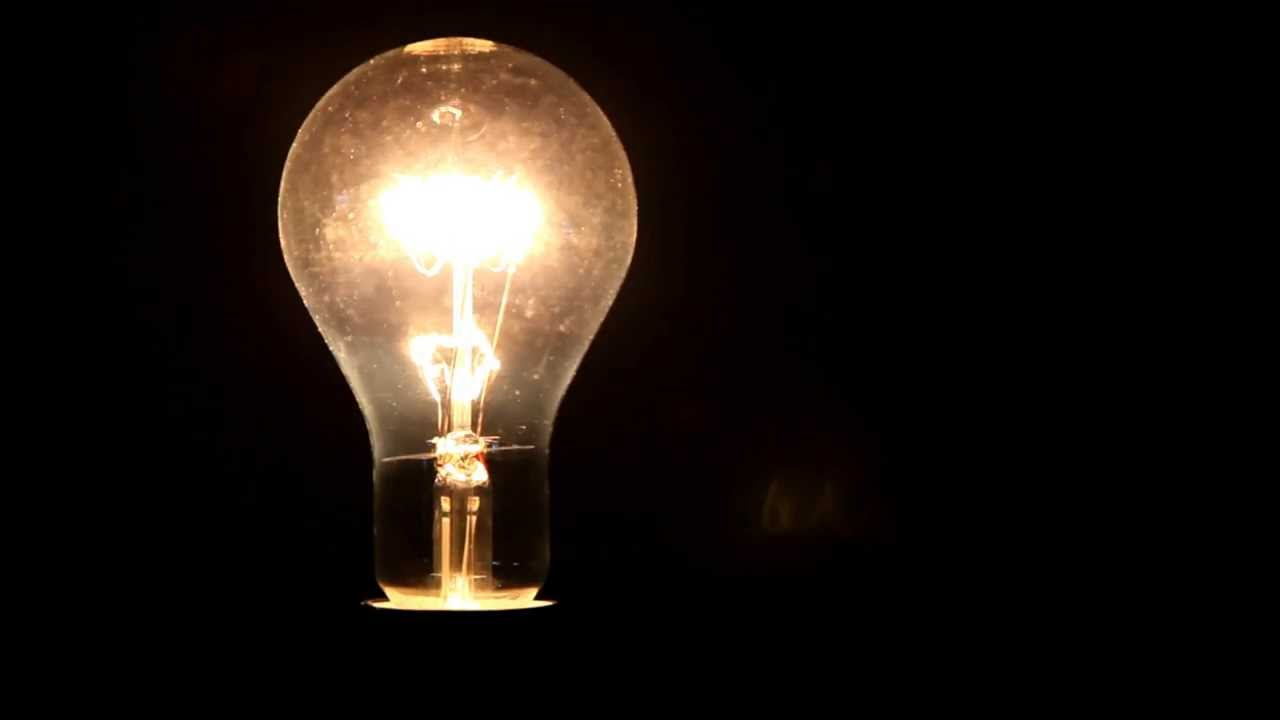 Light Bulb Electric Light Electric Lamp Youtube