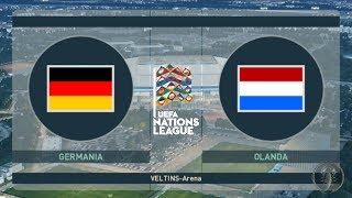 Germania Vs Olanda - UEFA Nations League [PES 2019/18 Patch Giù]