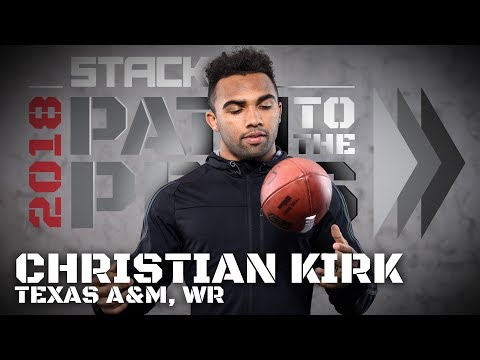 The Young Pro: Christian Kirk Has Been Working Like an NFL Veteran His Entire Life