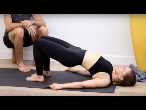 Total Body Yoga Workout Vinyasa Flow for Core Hips & Glutes