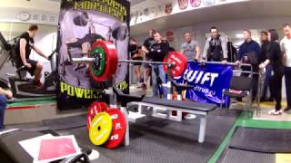 Akson Bench press Fury 1 attempt