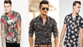New Floral Print Shirts And T-shirts For Men