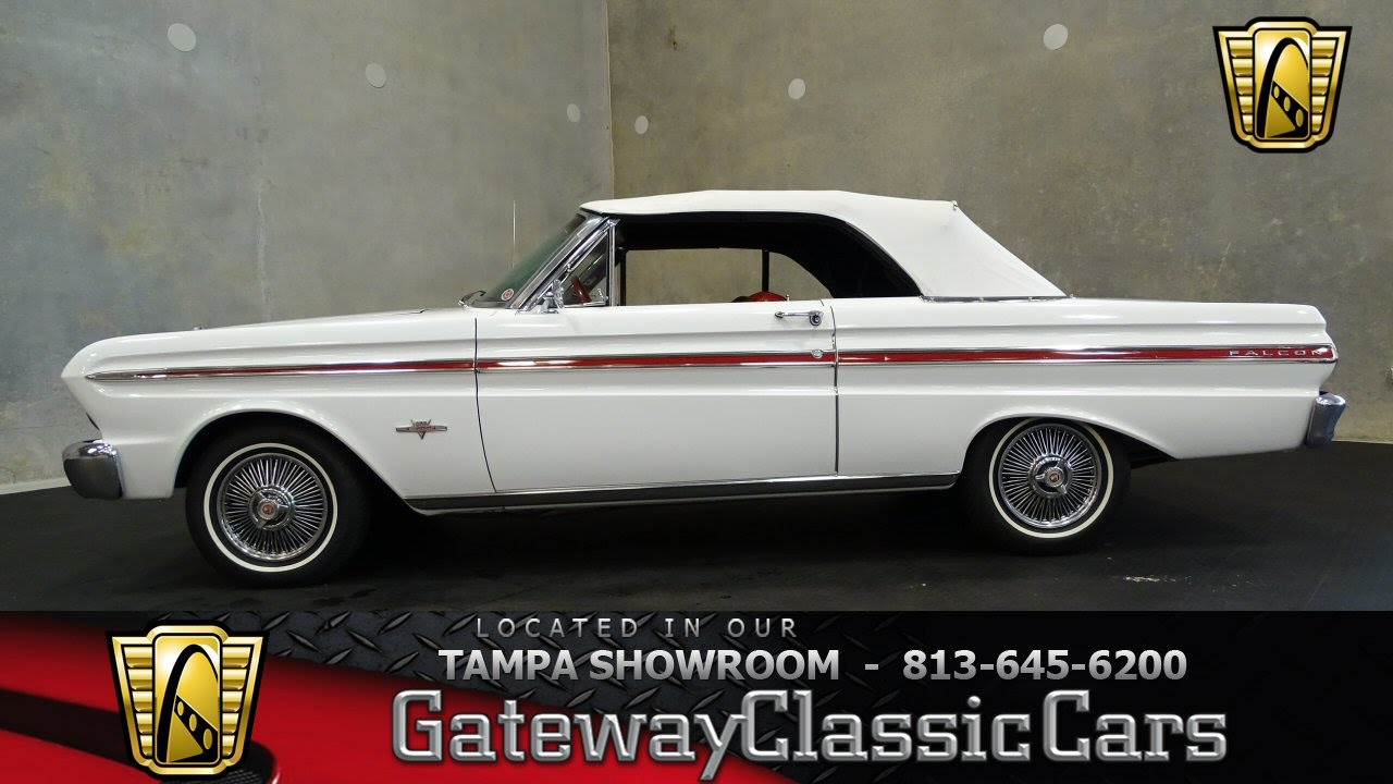 Stock 534 Tpa 1965 Ford Falcon 302 Cid V8 4 Speed Automatic Youtube 1964 Ranchero For Sale