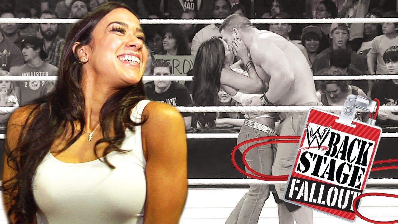 Video: Dolph Ziggler is pissed, AJ Lee is twitchy and the Prime Time Players are awesome - Cageside Seats