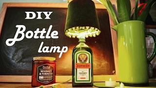 Светильник из бутылки / Bottle Lamp DIY