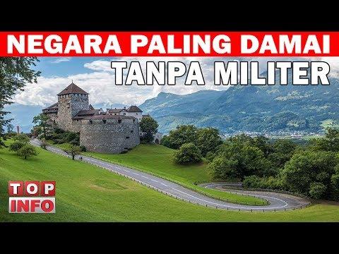 7 NEGARA TANPA MILITER PALING DISEGANI DI DUNIA