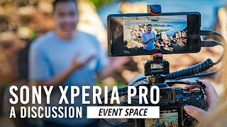 Sony Xperia PRO: Expert's Panel Discussion | B&H Event Space